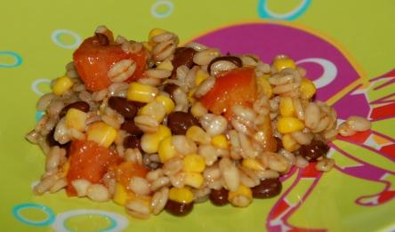 Southwest Barley Salad